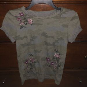 American eagle camouflage shirt